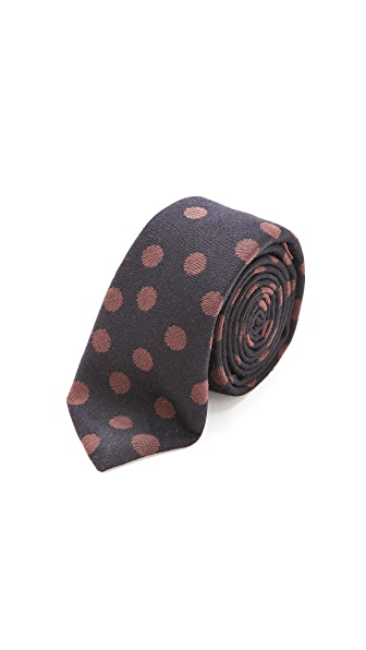 Alexander Olch Alfred Polka Dot Neck Tie