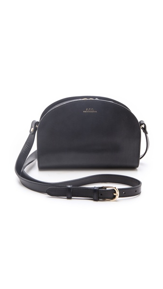 A.P.C. Half Moon Handbag