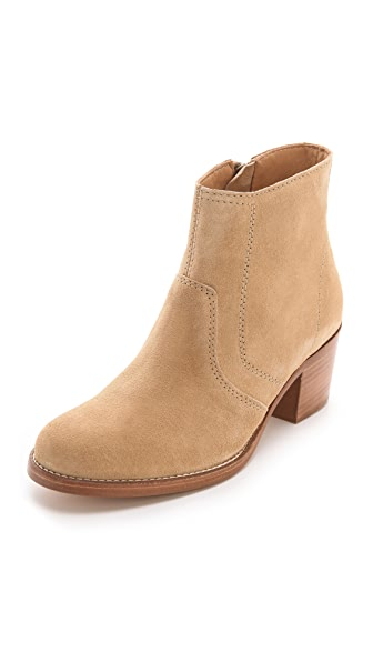 A.P.C. Inside Zip Booties