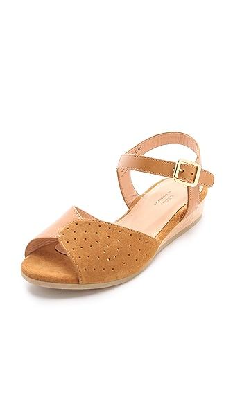 A.P.C. Demi Wedge Sandals