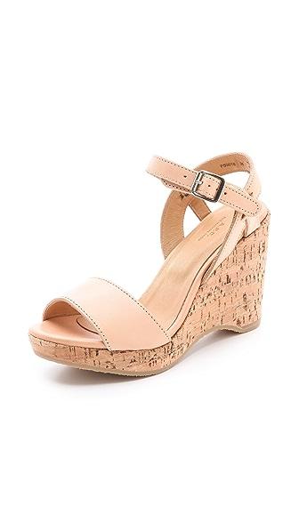 A.P.C. Cork Wedge Sandals