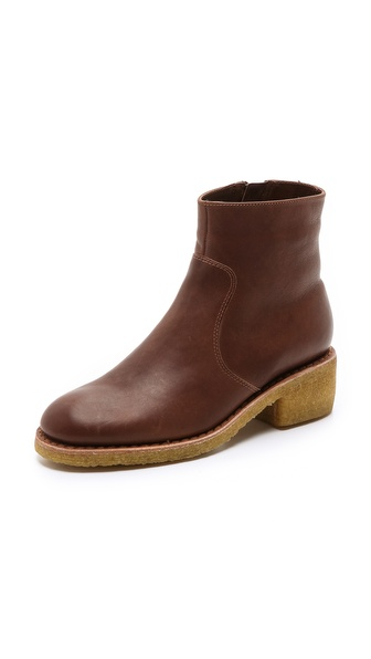 A.P.C. Sherpa Lined Booties
