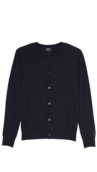 A.P.C. Fine Gauge Button Cardigan