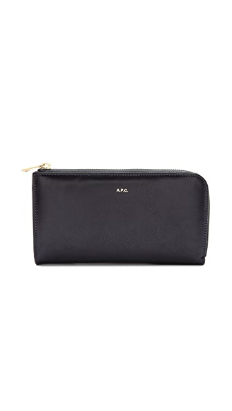 A.P.C. Zipped Wallet