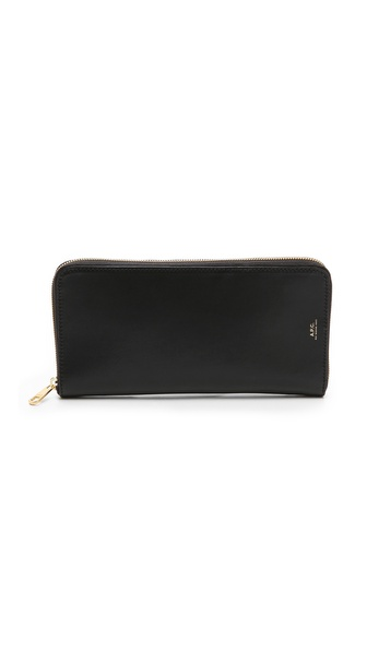 A.P.C. Travel Wallet