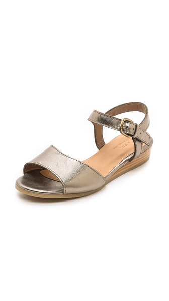 A.P.C. Demi Wedge Sandals - Bronze at Shopbop / East Dane