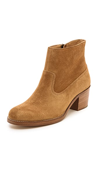 A.P.C. Low Heel Booties