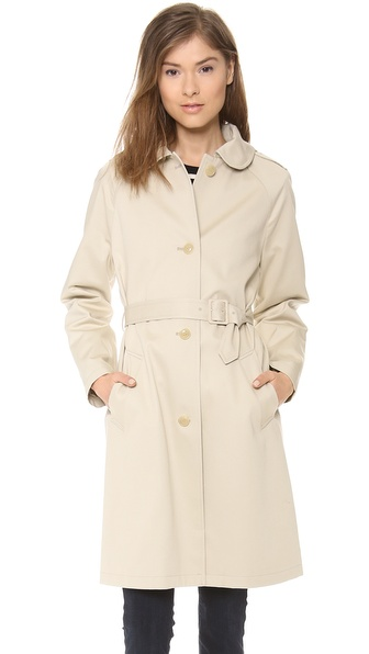 A.P.C. Dandy Manteau Coat - Mastic at Shopbop / East Dane