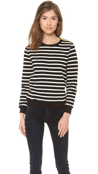 A.P.C. Marin Sweater - Noir at Shopbop / East Dane