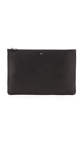 A.P.C. Zip Top Pouch