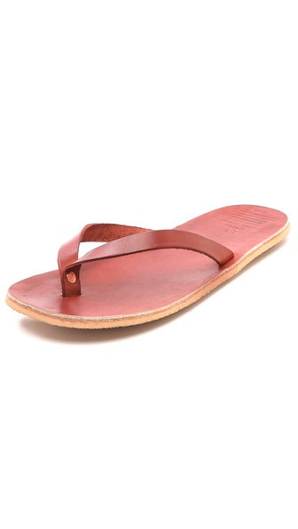 Apolis Co-Op Leather Sandals