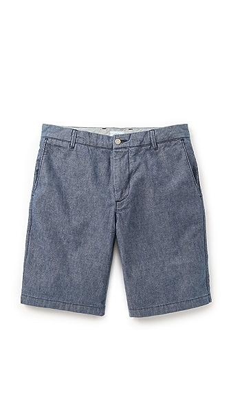 Apolis Chambray Shorts