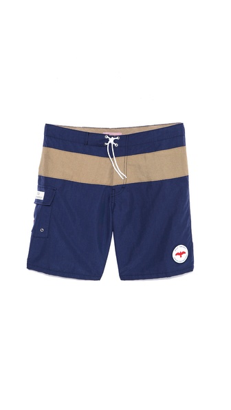 Apolis Stripe Board Shorts