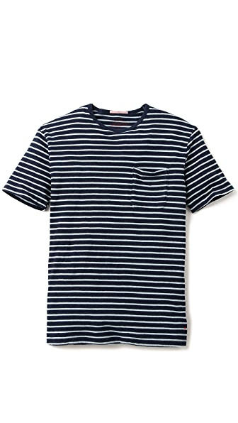 Apolis Striped Pocket T-Shirt