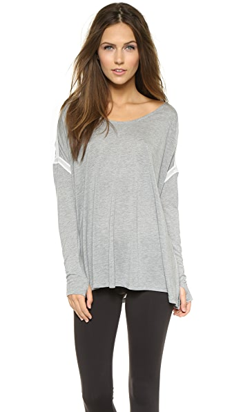 Apres Ramy Brook Stacey Pullover - Heather Grey