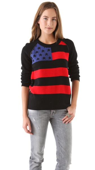 April, May America Pullover