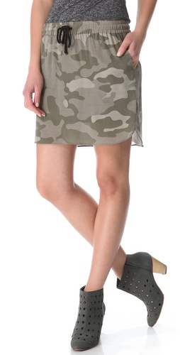 April, May Candy Camoflauge Skirt