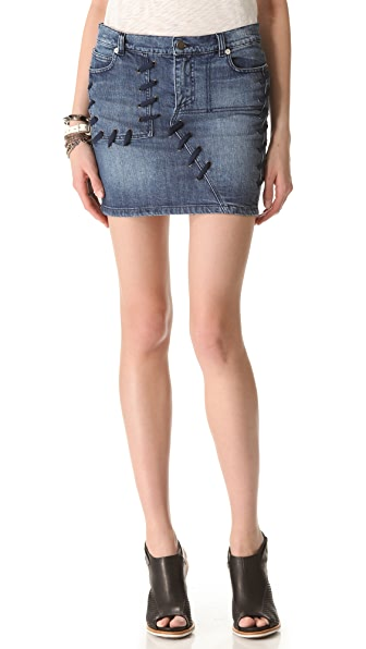 April, May Sophie Denim Skirt