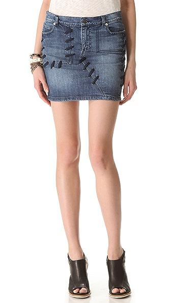 April, May Sophie Denim Skirt