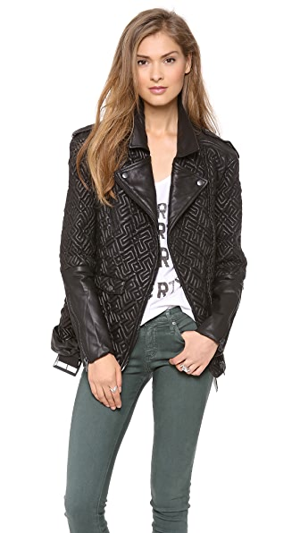 April, May Bay Biker Jacket