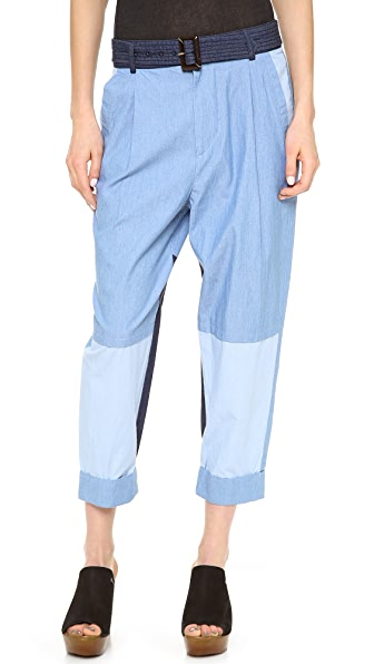 April, May Lhasa Crop Pants