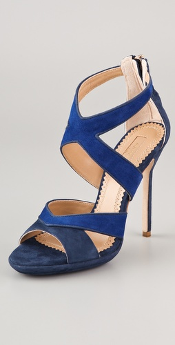 Aquazzura Nina Suede Sandals