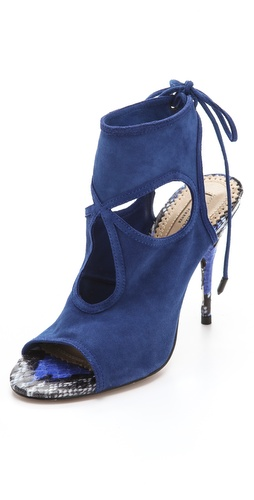 Shop Aquazzura Sexy Thing Suede Booties - Aquazzura online - Footwear,Womens,Footwear,Sandals, at Lilychic Australian Clothes Online Store
