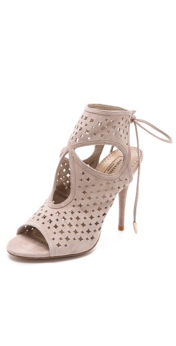 Shop Aquazzura Sexy Star Cutout Booties and Aquazzura online - Footwear,Womens,Footwear,Sandals, online Store