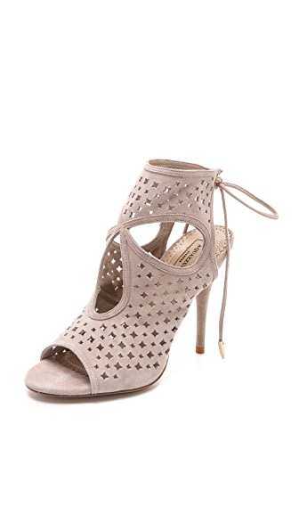 Aquazzura Sexy Star Cutout Booties