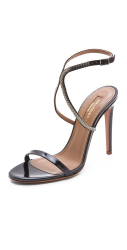Aquazzura Cannes Chain Sandals