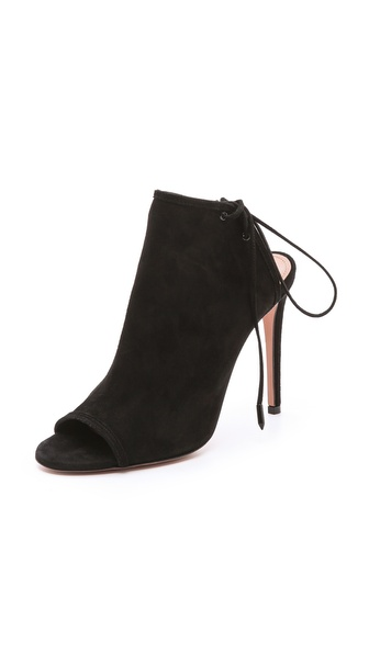 Aquazzura Mayfair Peep Toe Booties