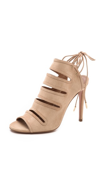 Aquazzura Sloane Cutout Sandals