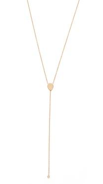 Ariel Gordon Jewelry Teardop Lariat Necklace