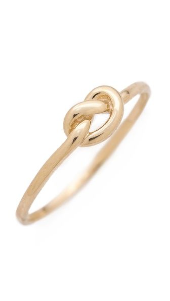 Ariel Gordon Jewelry Love Knot Ring