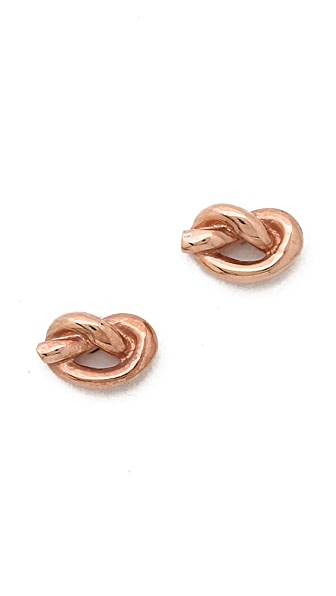 Ariel Gordon Jewelry Love Knot Earrings