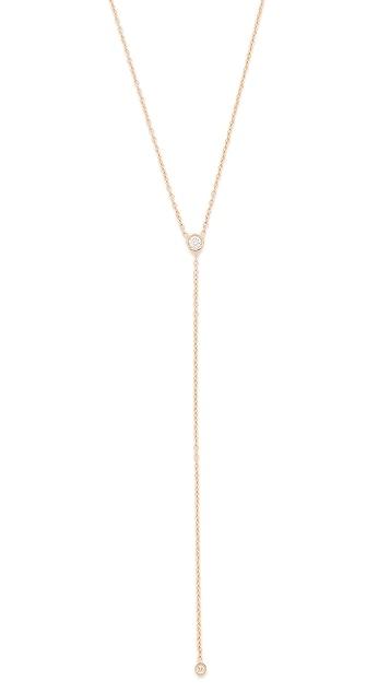 Ariel Gordon Jewelry 14K 金钻石套索项链