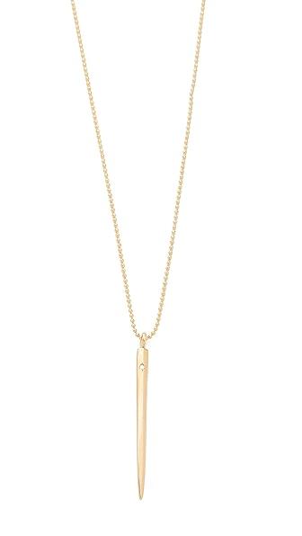 Ariel Gordon Jewelry Spike Charm Necklace