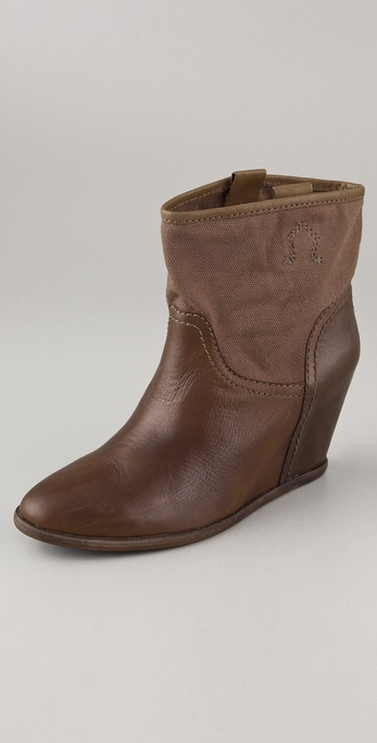 Ash Sting Wedge Booties