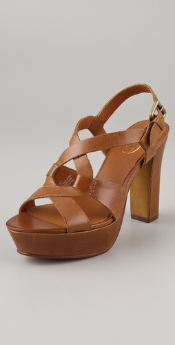 Ash Cindy High Heel Platform Sandals