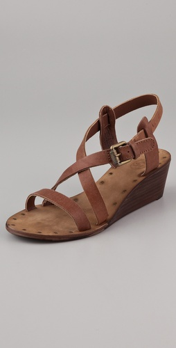 Ash Orchid Wedge Sandals