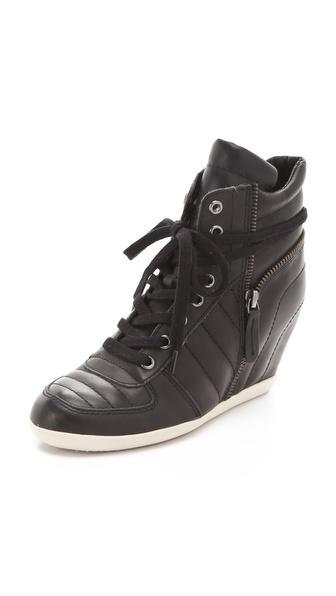 Ash Brooklyn Puffy Wedge Sneakers