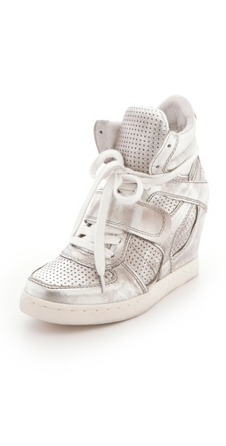 Shop Ash Cool Metallic Wedge Sneakers and Ash online - Footwear, Womens, Footwear, Sneakers,  online Store