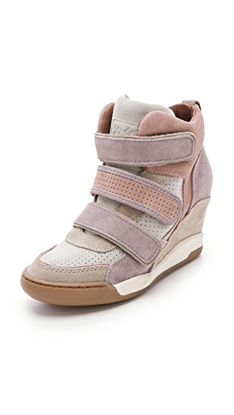 Ash Alex Wedge Sneakers with 3 Tabs