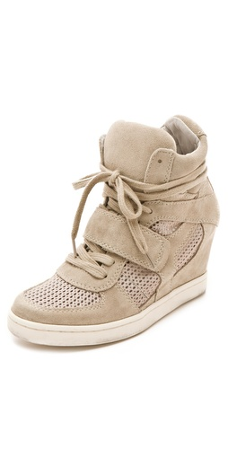 Shop Ash Cool Wedge Sneakers with Mesh Insets online and buy Ash latest season - Footwear, Womens, Footwear, Sneakers,  online shop