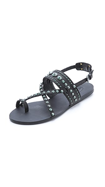 Ash Oman Bis Studded Sandals