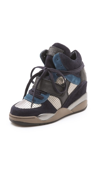 Ash Funky Wedge Sneakers