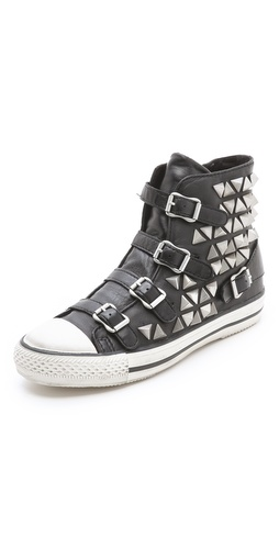 Ash Vice Studded Buckle Sneakers at Shopbop / East Dane