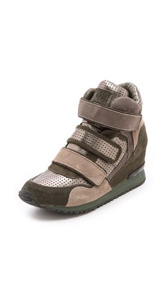 Ash Disco Wedge Sneakers