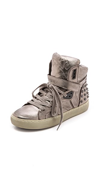 Ash Skunk Studded Sneakers