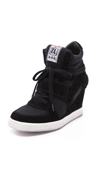 Ash Cool Wedge Sneakers - Black at Shopbop / East Dane
